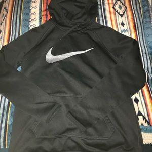 Black Nike therma-fit hoodie. Size medium.